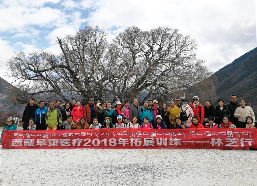 西藏阜康医疗2018年拓展训练——增强团队凝聚力、提升团队协作能力,更好地为患者服务